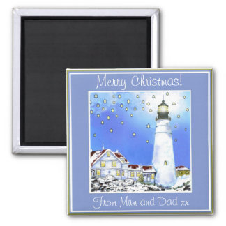 PORTLAND HEAD LIGHT BY BRIGID O'NEILL HOVEY FRIDGE MAGNETS