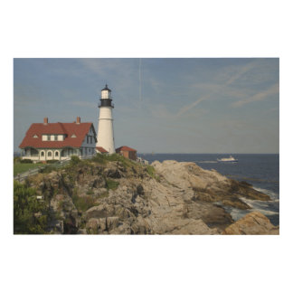 Portland Head Light, Cape Elizabeth,Maine, Wood Wall Art