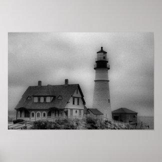 Portland Head Light, Cape Elizabeth ME Canvas Prin Poster