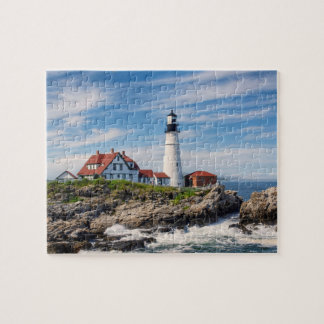 Portland Head Light Jigsaw Puzzle