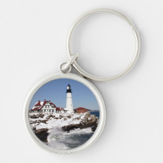 Portland Head Light Key Ring