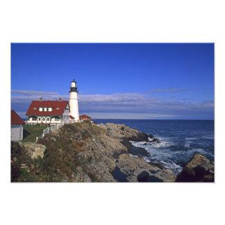 Portland Head Light Lighthouse Maine Art Photo