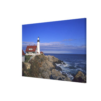 Portland Head Light Lighthouse Maine Canvas Print
