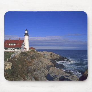 Portland Head Light Lighthouse Maine Mouse Pads