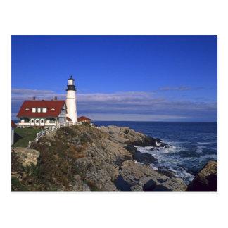 Portland Head Light Lighthouse Maine Postcard