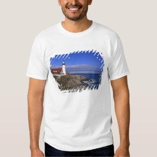 Portland Head Light Lighthouse Maine Tee Shirt