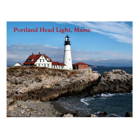 Portland Head Light, Maine Postcard