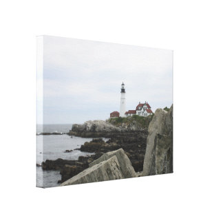 Portland Head Lighthouse 2 Gallery Wrapped Canvas