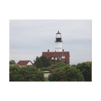 Portland Head Lighthouse 5 Gallery Wrapped Canvas