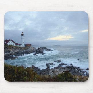 Portland Head Lighthouse at Sunrise Mousepads