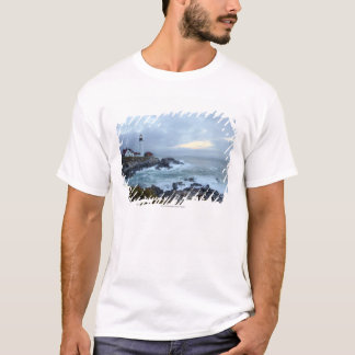 Portland Head Lighthouse at Sunrise T-Shirt