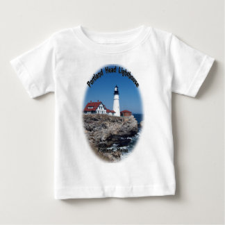 Portland Head Lighthouse Baby T-Shirt