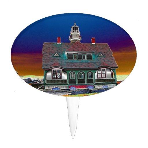 Portland Head Lighthouse Cake Pick