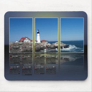 Portland Head Lighthouse Calendar Mousepads