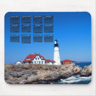Portland Head Lighthouse Calendar Mouse Pads