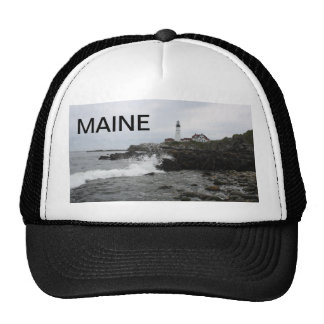 Portland Head Lighthouse Mesh Hats