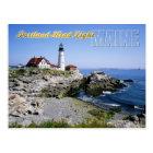 Portland Head Lighthouse, Cape Elizabeth, Maine Postcard
