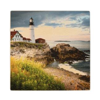 Portland Head Lighthouse | Cape Elizabeth, Me Wood Coaster