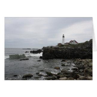 Portland Head Lighthouse Card
