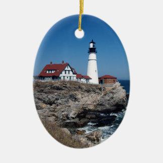 Portland Head Lighthouse Christmas Ornament