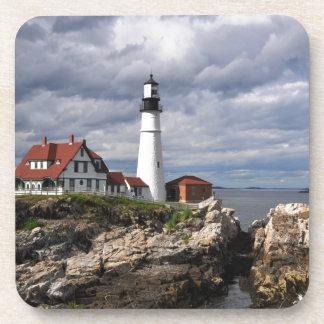 Portland Head Lighthouse Drink Coaster