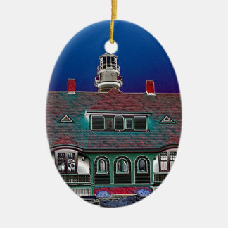 Portland Head Lighthouse Christmas Ornaments