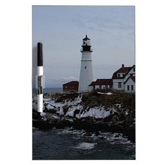 Portland Head Lighthouse Dry Erase Whiteboard