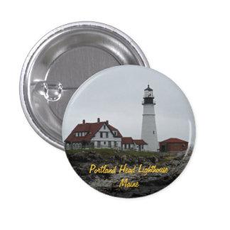 Portland Head Lighthouse Maine Pinback Buttons