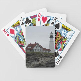 Portland Head Lighthouse, Maine Bicycle Poker Cards