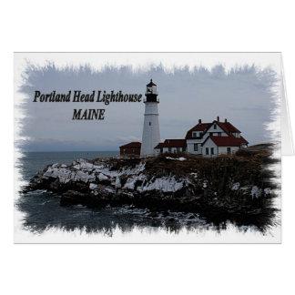 Portland Head Lighthouse - Maine Card