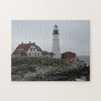 Portland Head Lighthouse, Maine Jigsaw Puzzles