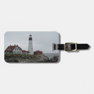 Portland Head Lighthouse Maine Travel Bag Tag