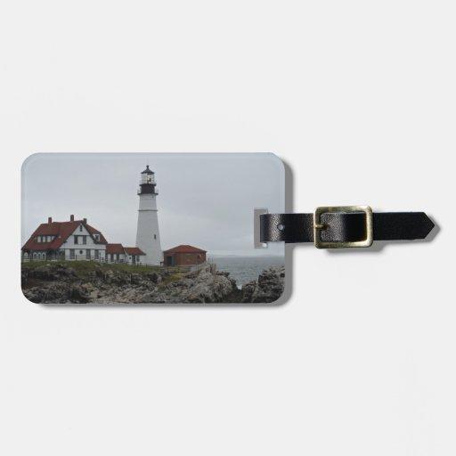 Portland Head Lighthouse, Maine Travel Bag Tag