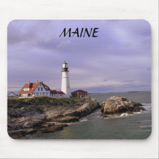 PORTLAND HEAD LIGHTHOUSE, MAINE MOUSE PAD