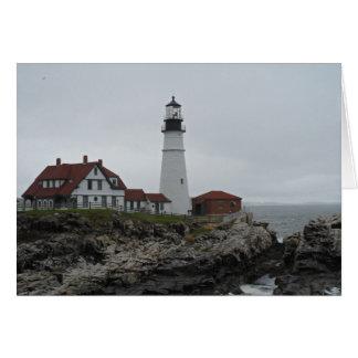 Portland Head Lighthouse, Maine Note Card