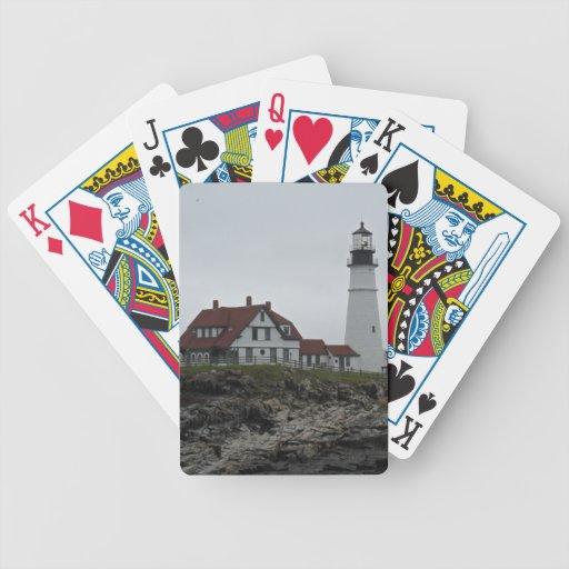 Portland Head Lighthouse, Maine Bicycle Card Deck