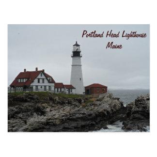 Portland Head Lighthouse, Maine Postcard