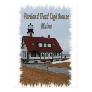 Portland Head Lighthouse - Maine Postcard