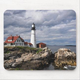 Portland Head Lighthouse Mouse Pads