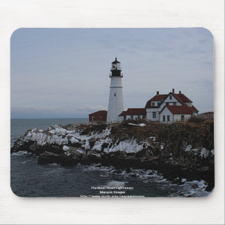 Portland Head Lighthouse Mouse Pad