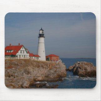 Portland Head Lighthouse Mouse Pad