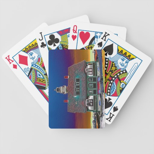 Portland Head Lighthouse Deck Of Cards