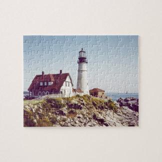 Portland Head Lighthouse puzzle