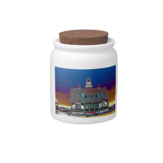 Portland Head Lighthouse Candy Dish