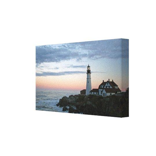 Portland Head Lighthouse Wall Art Canvas