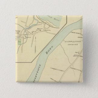 Portland, Higganum 15 Cm Square Badge