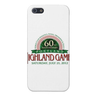 Portland Highland Games 60th Anniversary Items Covers For iPhone 5