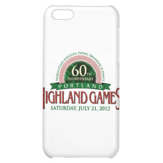 Portland Highland Games 60th Anniversary Items iPhone 5C Cover