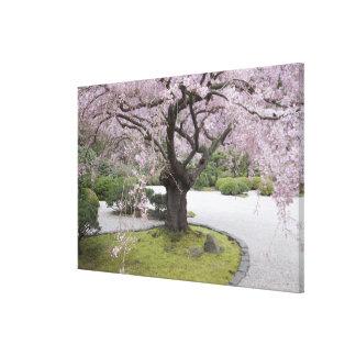 Portland Japanese Gardern, Portland, Oregon, Canvas Print