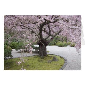 Portland Japanese Gardern, Portland, Oregon, Card